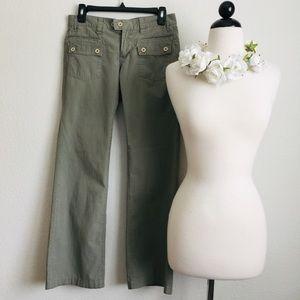 Anthropologie G1 Basic Goods Olive Pants